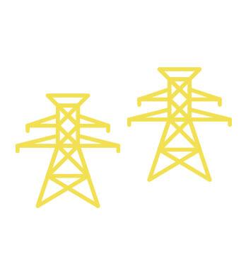 送電線、安全性は今までと同じ