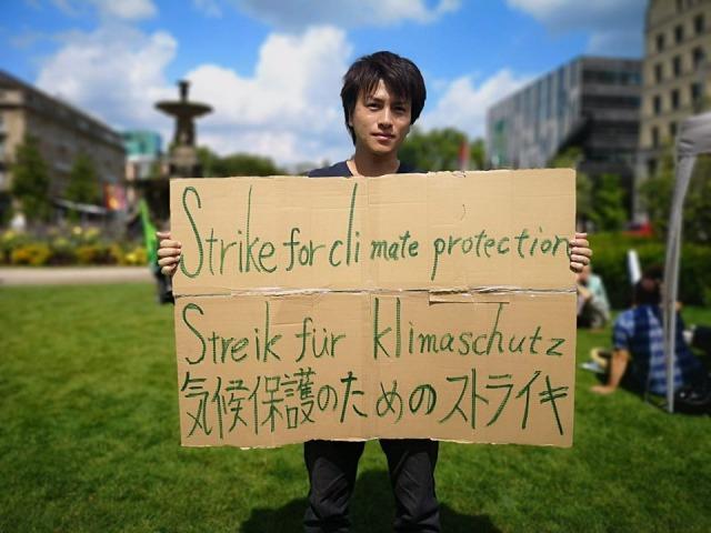 環境活動家の谷口たかひささん